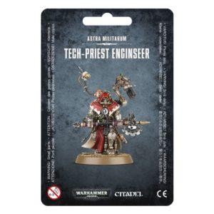 Tecnosacerdote Visioingeniero Guardia Imperial Astra Militarum Warhammer 40k Tech priest Enginseer