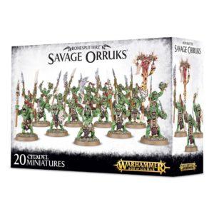 Morboys Arrowboys Orcos Salvajes Bonesplitterz Warhammer Sigmar Savage Orruks