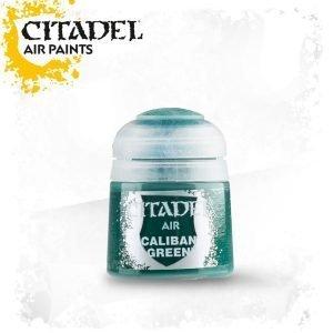 Pintura Verde OScuro Citadel Air Caliban Green
