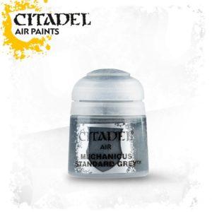 Pintura Gris Oscuro Citadel Air Mechanicus Standard Grey