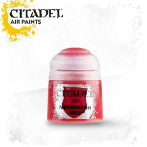 Pintura Rojo Oscuro Citadel Air Mephiston Red