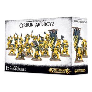 Orcos Negros Ironjawz Warhammer Sigmar Orruk Ardboyz
