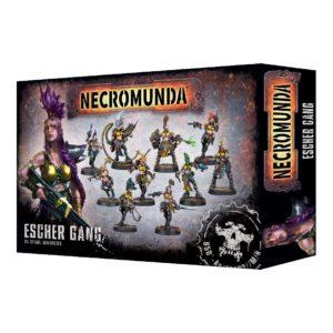 Necromunda Banda Escher Gang
