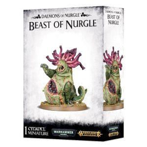 Bestia Warhammer 40k Sigmar Caos Beast of Nurgle