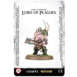 Señor Caos Nurgle Warhammer Sigmar Lord of Plagues