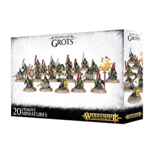 Goblin Nocturnos Orcos Warhammer Sigmar Moonclan Grots
