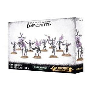 Daemonettes Slaanesh Warhammer 40k Sigmar Caos Diablillas