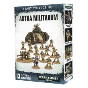 Guardia Imperial Warhammer 40k Start Collecting Astra Militarum