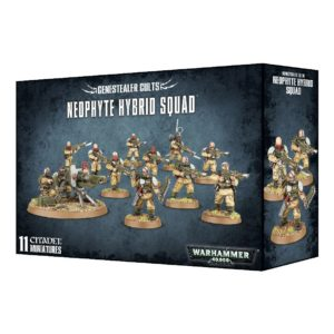 Neofitos Gambas Tiranidos Tyranids Culto Genestealer Cult Warhammer 40k Neophyte Hybrid Squad