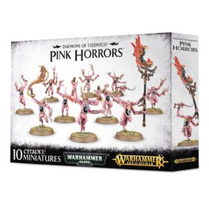 Horrores Rosa Tzeentch Warhammer 40k Sigmar Caos Pink Horrors