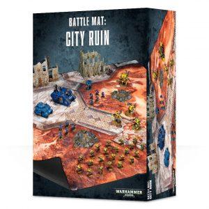 Escenografia Scenery Battle Mat Warhammer 40k Tapete City Ruin